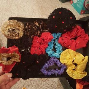 Scrunchies 11 piece lot